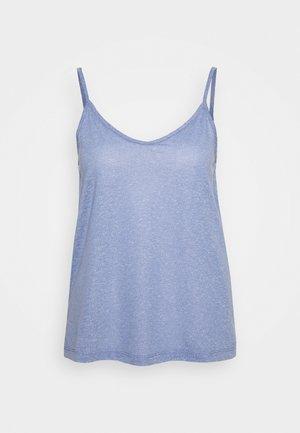 SLFIVY  V NECK STRAP - Topper - country blue