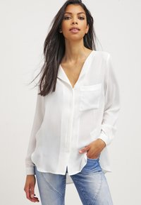 Selected Femme - SFDYNELLA - Blouse - snow white - 0