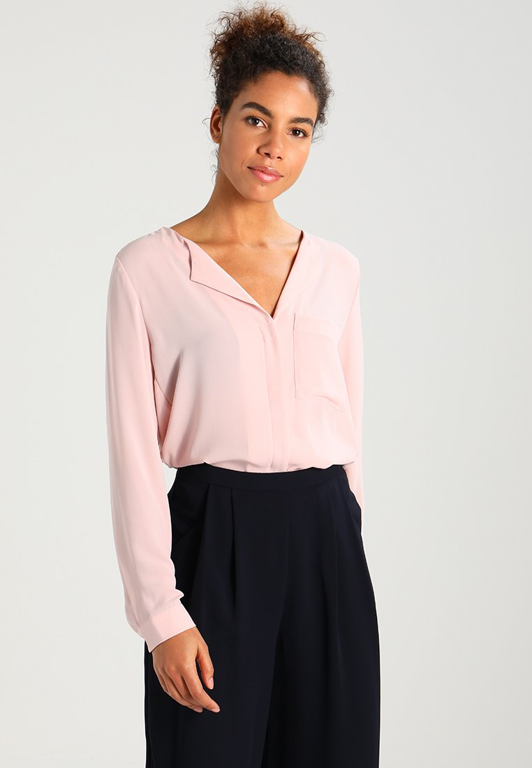 Selected Femme - SFDYNELLA - Blus - sepia rose