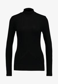 Selected Femme - SFMIO NOOS - Top sdlouhým rukávem - black - 4