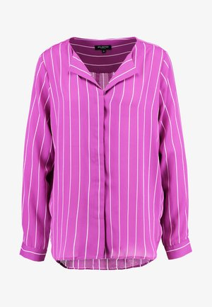 SLFDYNELLA STRIPE - Blouse - clover/orchid