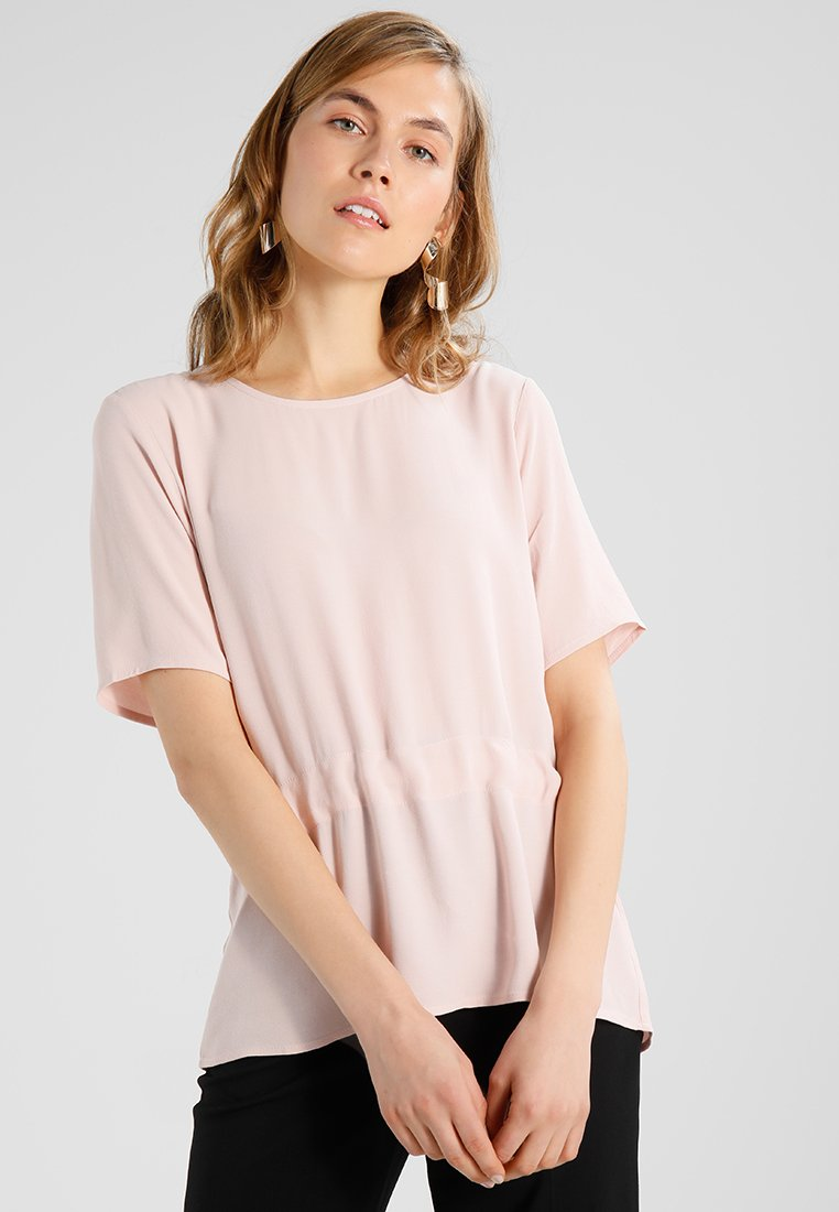 Selected Femme - SFTANNA TOP  - Blouse - sepia rose