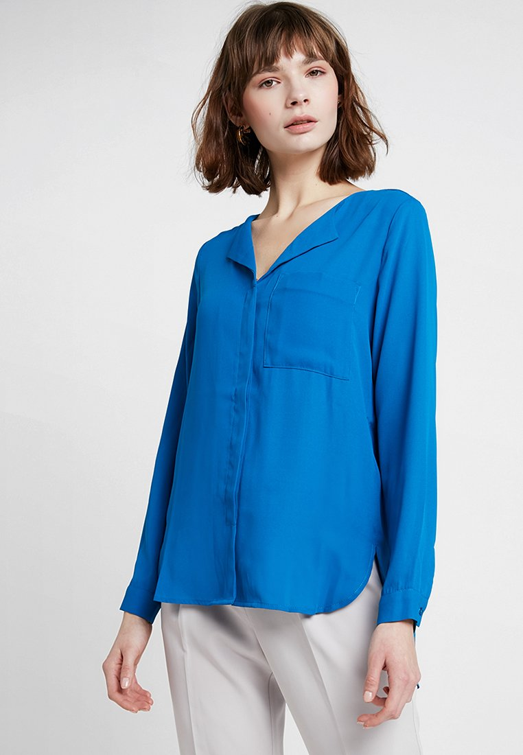 Selected Femme - SFDYNELLA - Blusa - mykonos blue