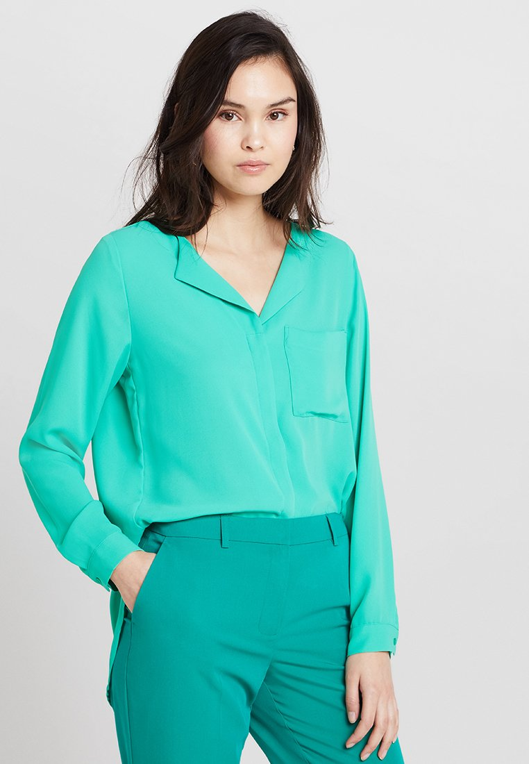 Selected Femme - SFDYNELLA - Blouse - gumdrop green