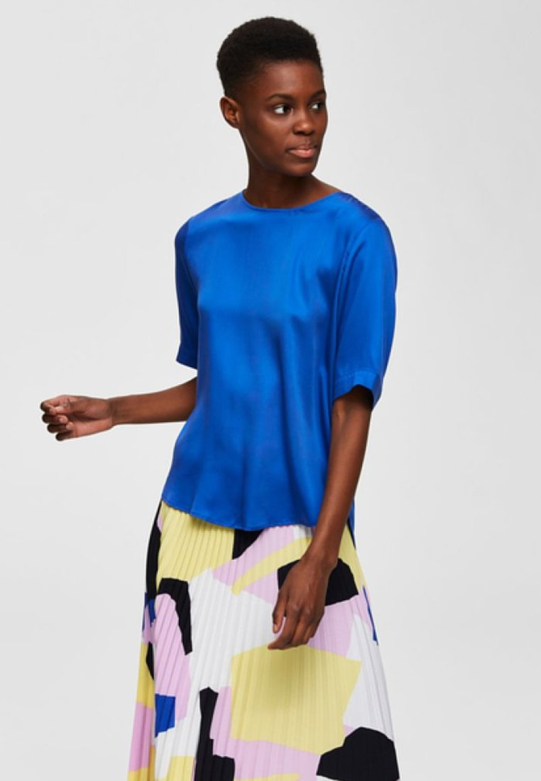 Selected Femme - Blouse - dazzling blue
