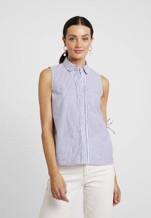 SLFCASSY - Camicia - vintage indigo/bright white