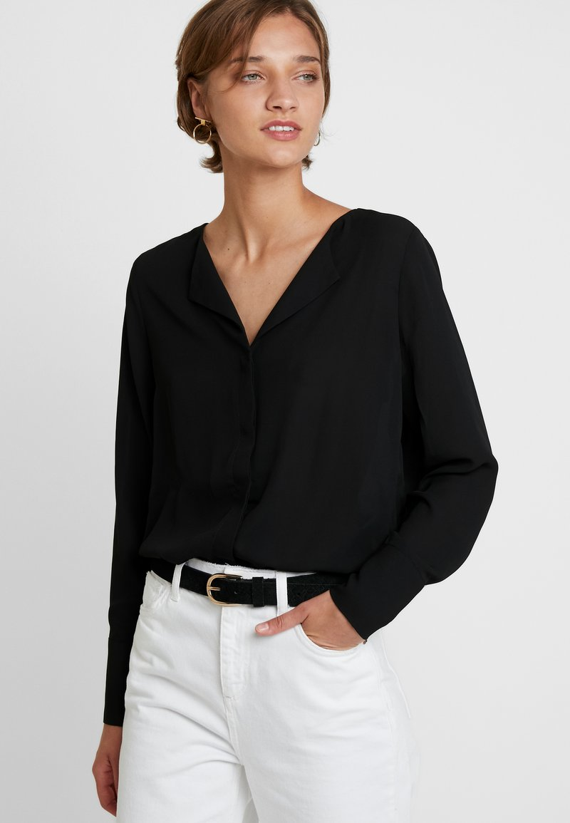 Selected Femme - SLFSTINA DYNELLA - Blouse - black