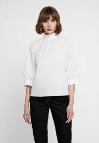 Selected Femme - SLFNESSA 3/4 - Blouse - snow white - 0