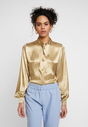 SLFDAKOTA - Button-down blouse - gold colour
