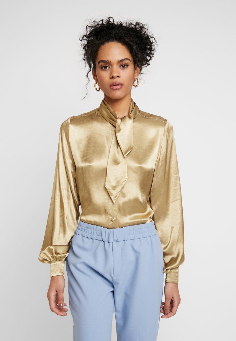 Selected Femme - SLFDAKOTA - Chemisier - gold colour