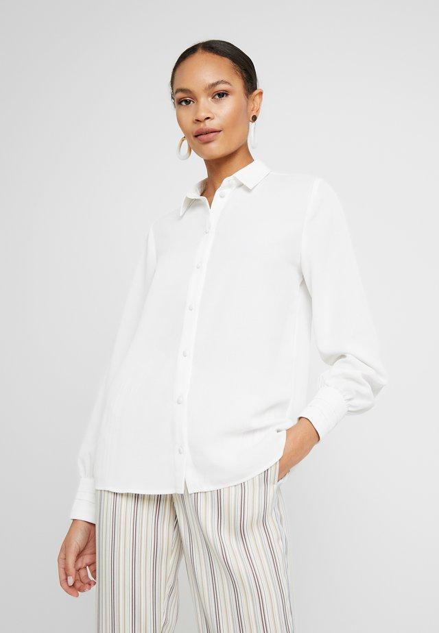 SLFMABEL - Button-down blouse - snow white