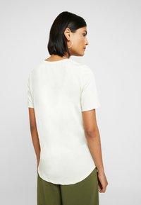Selected Femme - SLFELLA TEE - T-Shirt basic - birch - 2
