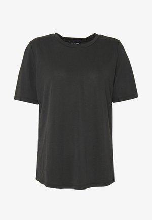 SLFELLA TEE - Jednoduché triko - black