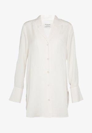 SLFIDA LONG SHIRT  - Skjorte - snow white
