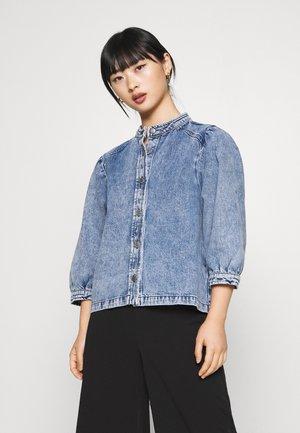 SLFSMILLA - Skjorte - blue denim