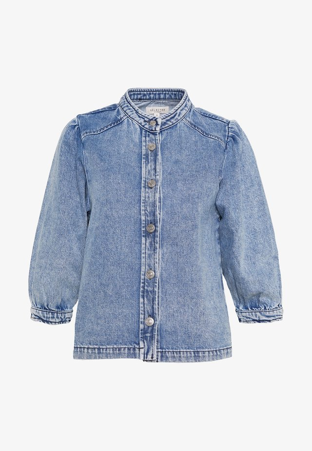 SLFSMILLA - Button-down blouse - blue denim