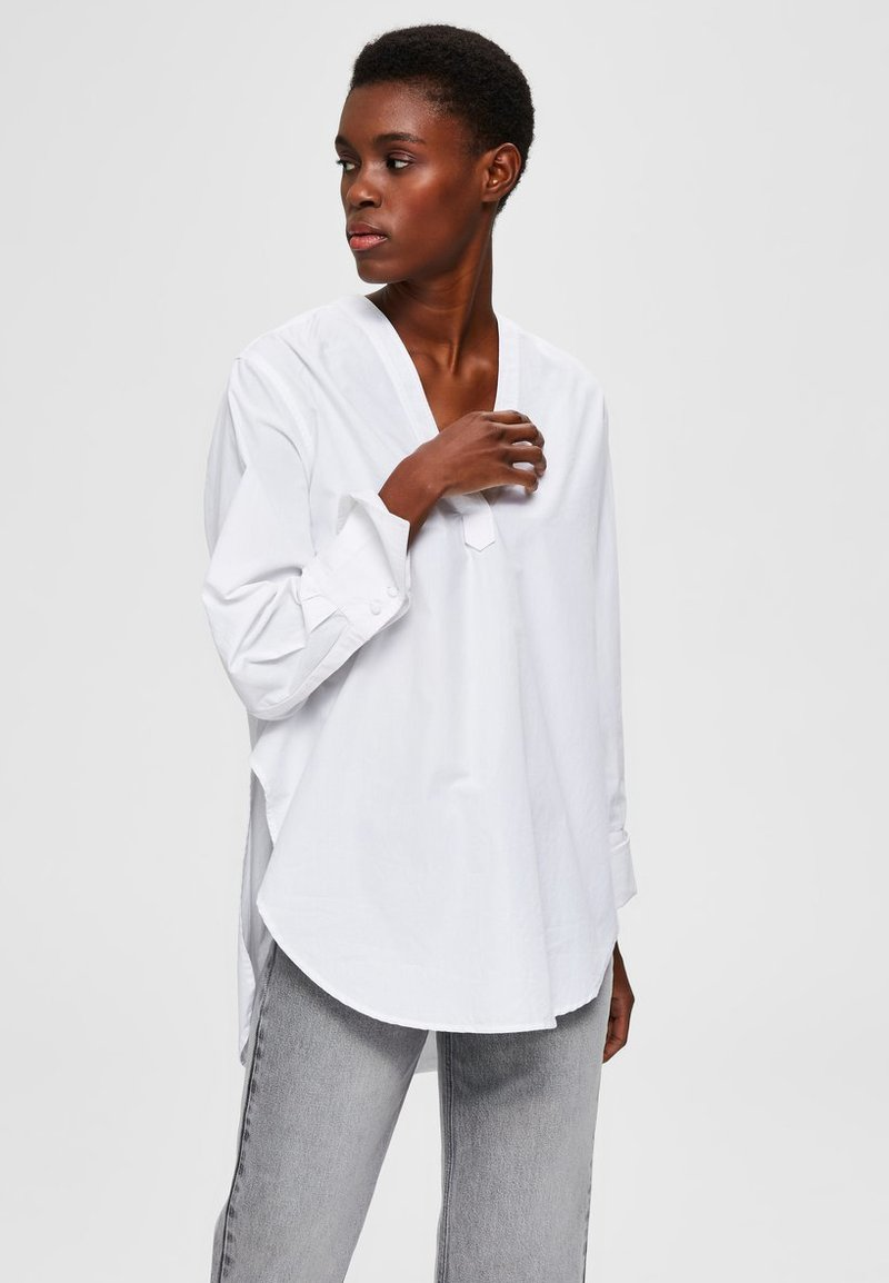 Selected Femme - Blůza - bright white
