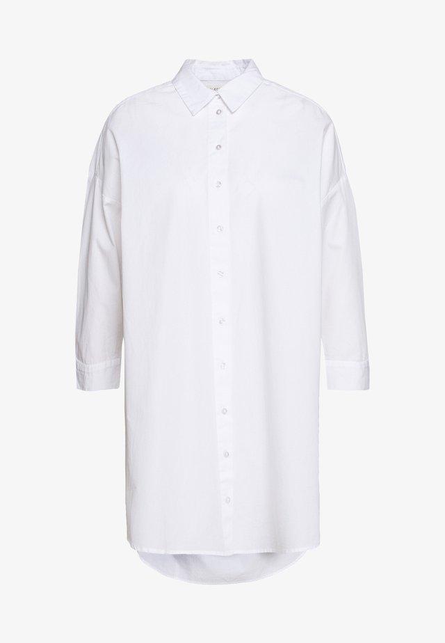 SLFAMI LON - Button-down blouse - bright white