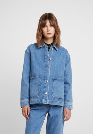 SLFSPENCER DAWN BLUE - Jeansjacke - medium blue denim
