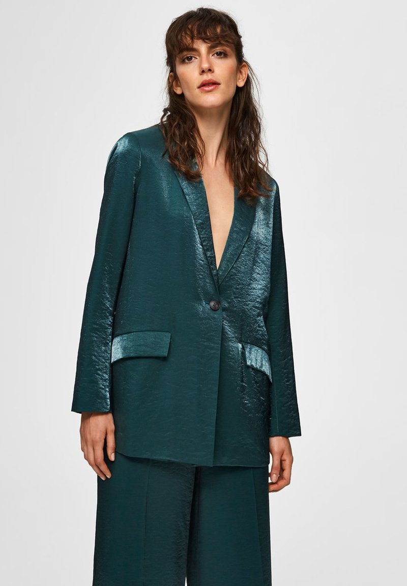 Selected Femme - Blazer - evergreen