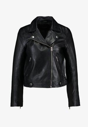 SLFKATIE JACKET - Leather jacket - black