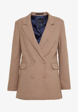 SLFGABRI LEA DOUBLE BREASTED - Blazer - cornstalk/comb