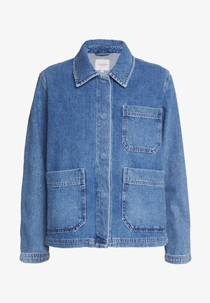 SLFMARTHA MID JACKET - Veste en jean - medium blue denim