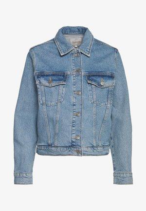 SLFSTORY BAIR JACKET - Denim jacket - light blue denim