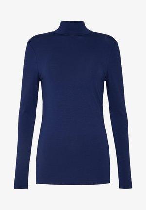 SFMIO HIGHNECK  - Top sdlouhým rukávem - medieval blue