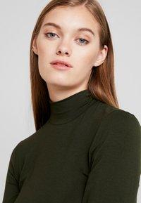 Selected Femme - SFMIO HIGHNECK  - T-shirt à manches longues - rosin - 4