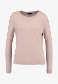 Selected Femme - SLFAYA O NECK - Trui - rose - 3