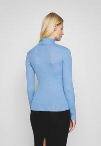 Selected Femme - SLFCOSTA ROLLNECK - Jersey de punto - della robbia blue - 2