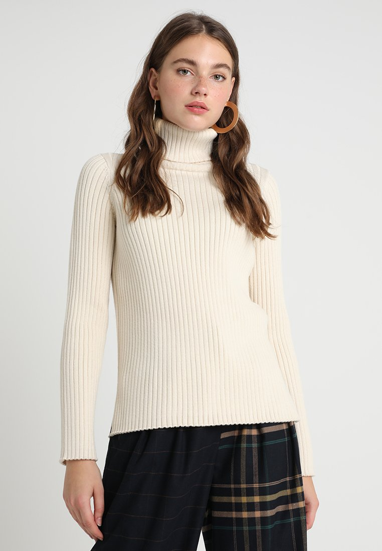 Selected Femme - SLFPINNA ROLLNECK - Jumper - birch