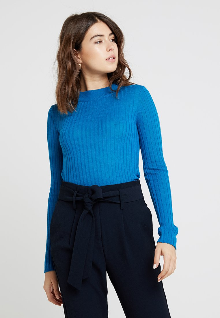 Selected Femme - SLFBELLA - Svetr - mykonos blue