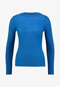Selected Femme - SLFBELLA - Svetr - mykonos blue - 4