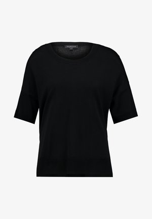 SLFWILLE O NECK - T-shirt imprimé - black