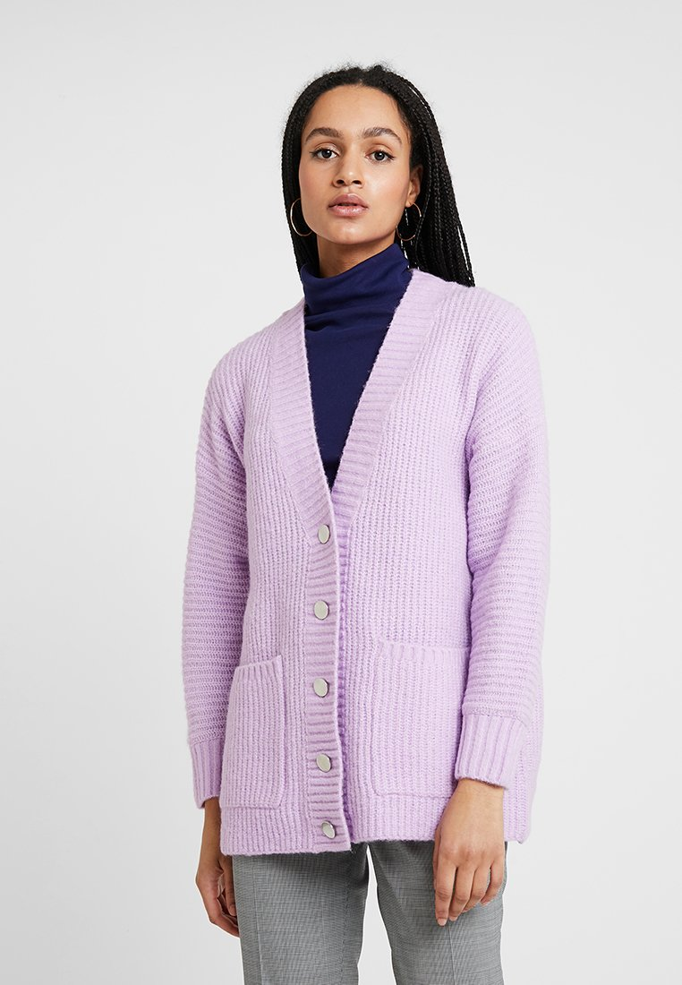 Selected Femme - SLFCLOVA CARDIGAN - Strickjacke - orchid bouquet