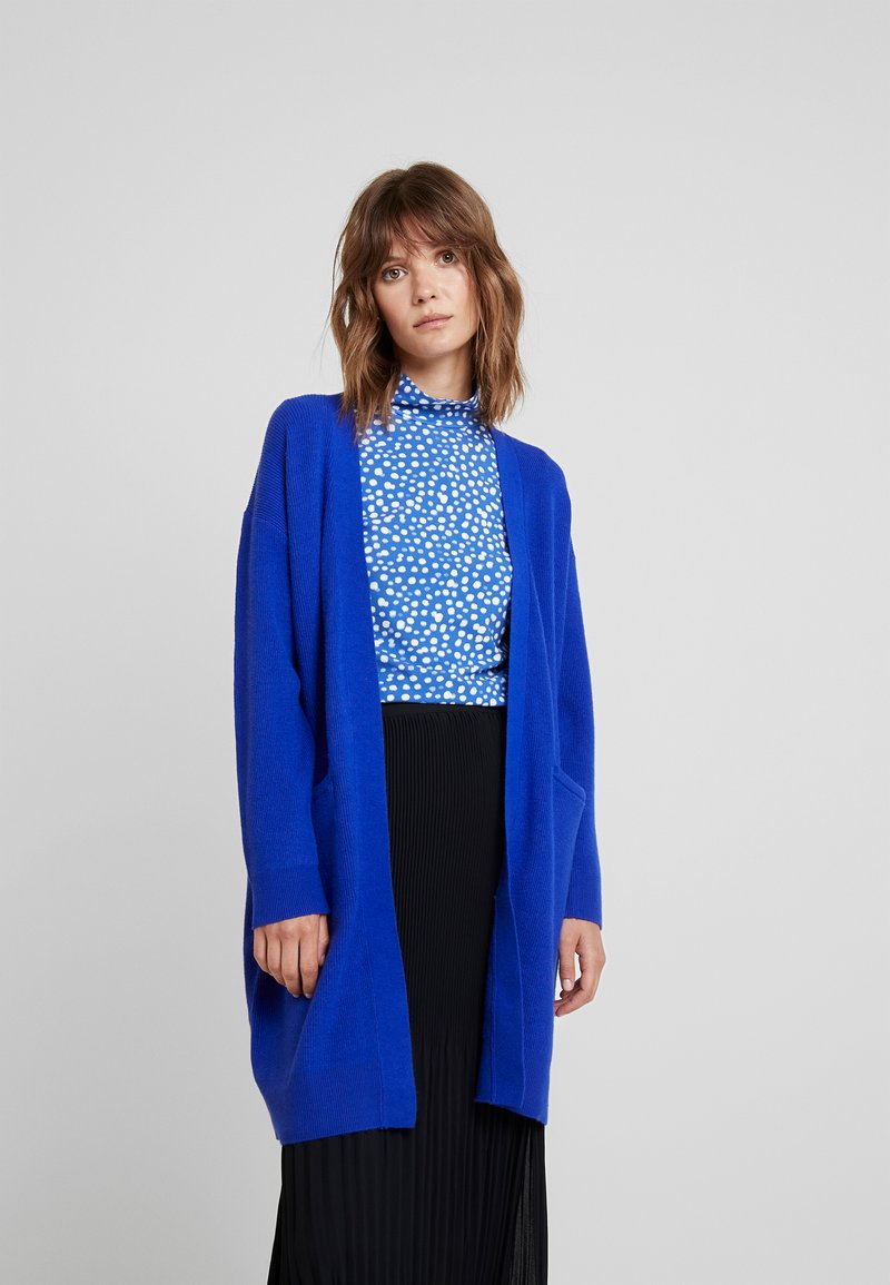 Selected Femme - SLFPHILUA CARDIGAN - Cardigan - clematis blue