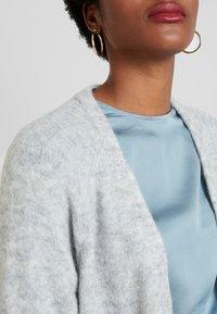 Selected Femme - SLFLANNA CARDIGAN - Kardigan - light grey melange - 5