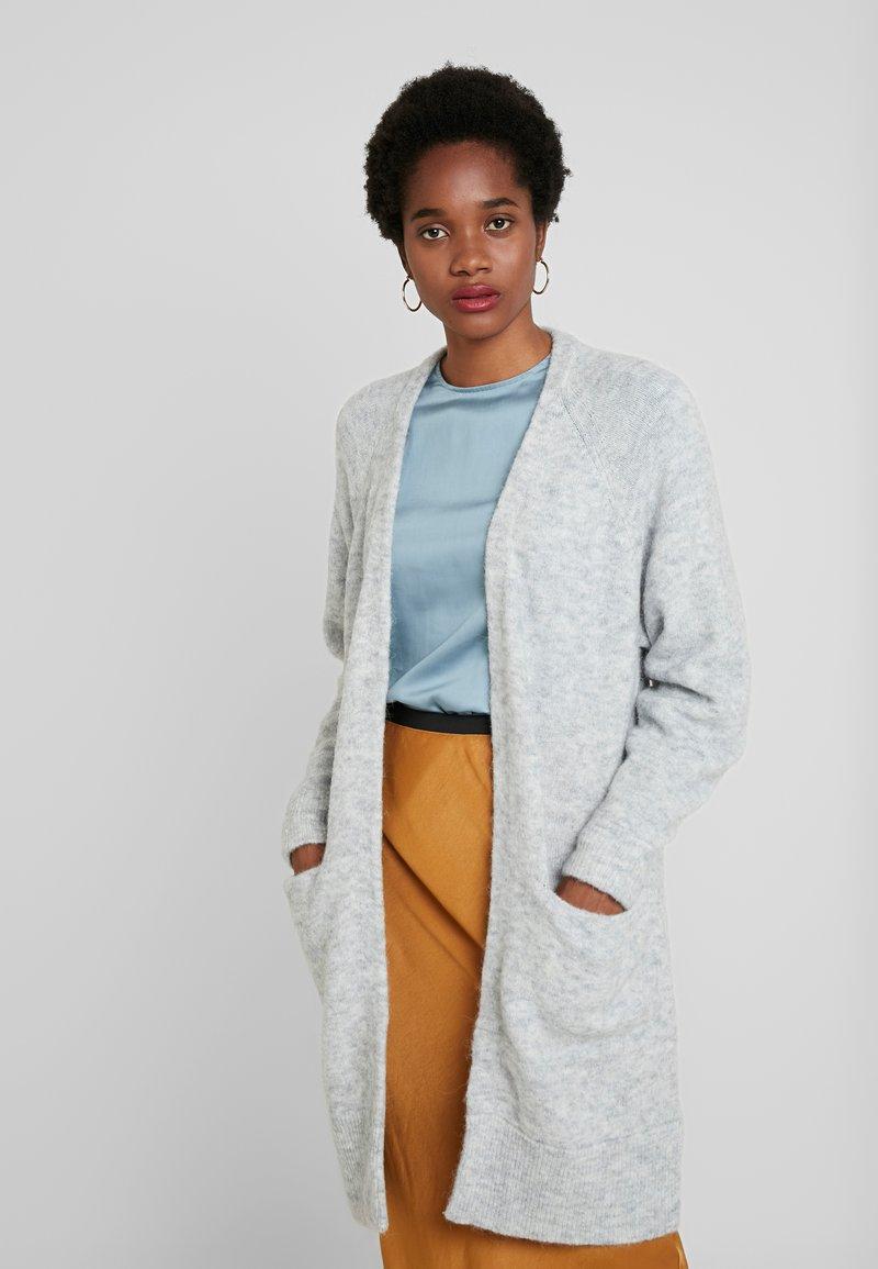 Selected Femme - SLFLANNA CARDIGAN - Cardigan - light grey melange