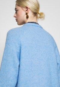 Selected Femme - SLFLANNA CARDIGAN - Kardigan - della robbia blue/melange - 6