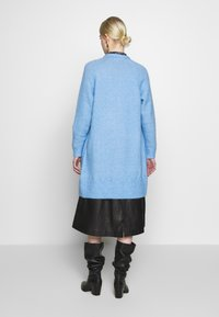 Selected Femme - SLFLANNA CARDIGAN - Kardigan - della robbia blue/melange - 2