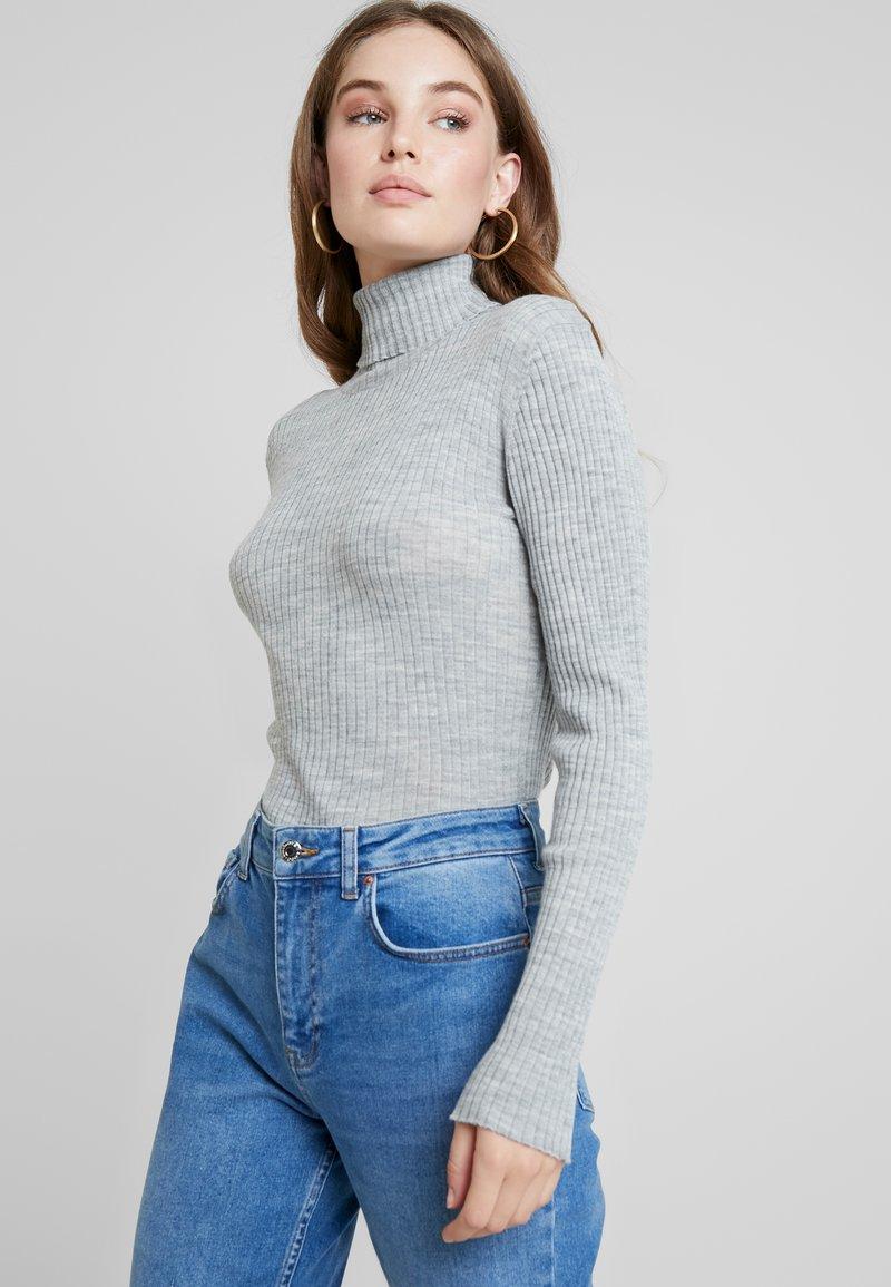 Selected Femme - Jersey de punto - light grey melange