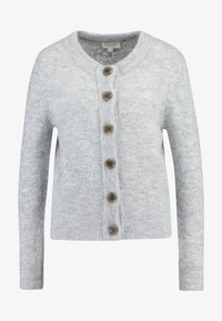 Selected Femme - SLFSIA - Chaqueta de punto - light grey melange - 4