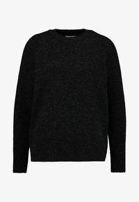 black/grey melange