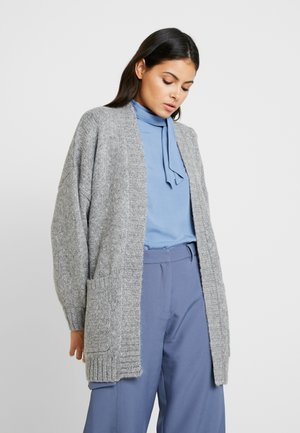 SLFCHANELLA LS CARDIGAN - Cardigan - medium grey melange