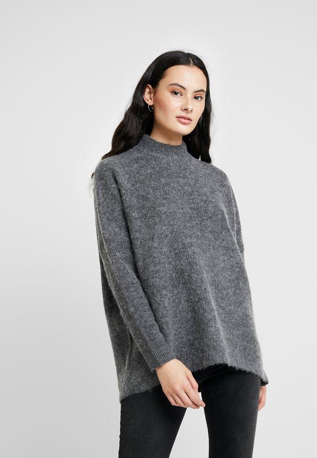 SLFENICA ONECK NOOS - Jersey de punto - medium grey