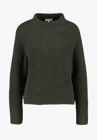 Selected Femme - SLFBANDANI HIGHNECK - Stickad tröja - rosin - 4