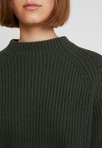 Selected Femme - SLFBANDANI HIGHNECK - Stickad tröja - rosin - 5