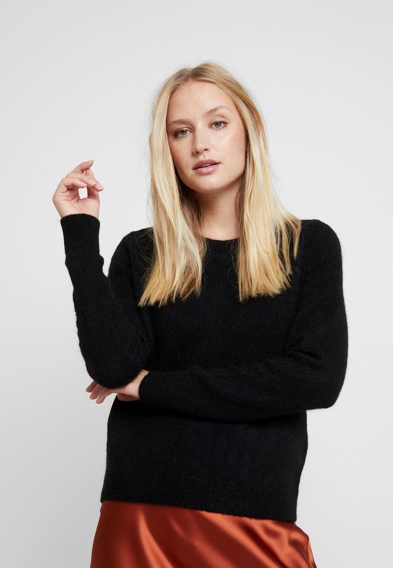 Selected Femme - SLFSIA O NECK - Jumper - black